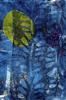 Painting - Blue Garden 2 by Tonya Doughty