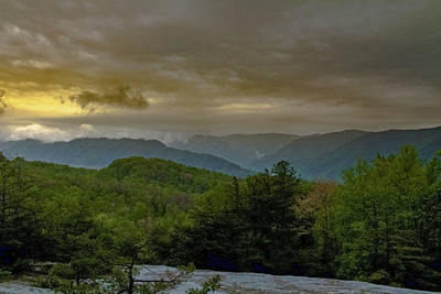 Photograph - Blue Grass Mountains by Jack R Perry