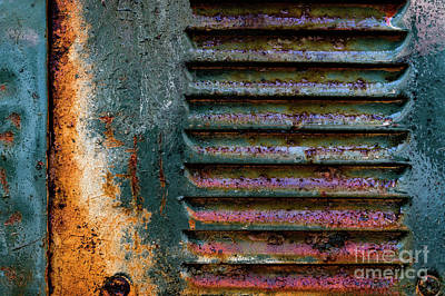 Photograph - Blue Green Grill by Doug Sturgess