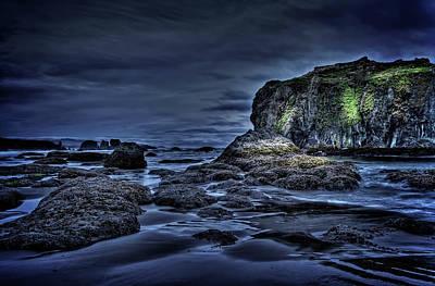 Photograph - Blue Hour At Bandon Beach by Thom Zehrfeld