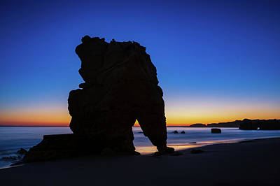 Photograph - Blue Hour At The Beach by Michael Blanchette
