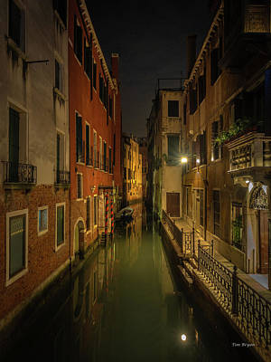 Photograph - Blue Hour In Venice by Tim Bryan