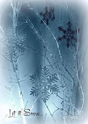 Photograph - Blue Ice by Jodie Marie Anne Richardson Traugott          aka jm-ART