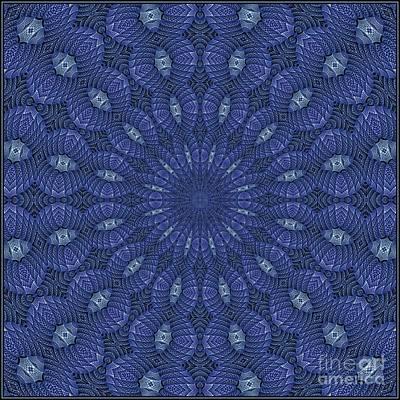 Digital Art - Blue K12-03062019-1 by Doug Morgan
