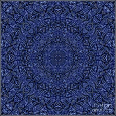 Digital Art - Blue K12-03062019-8 by Doug Morgan