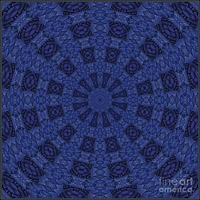 Digital Art - Blue K12-03062019-9 by Doug Morgan