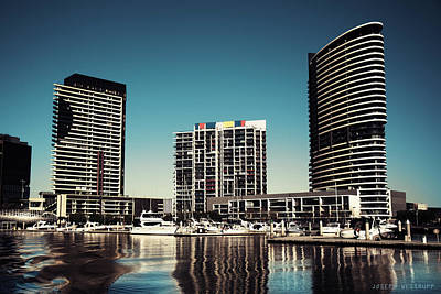 Photograph - Blue Melbourne by Joseph Westrupp