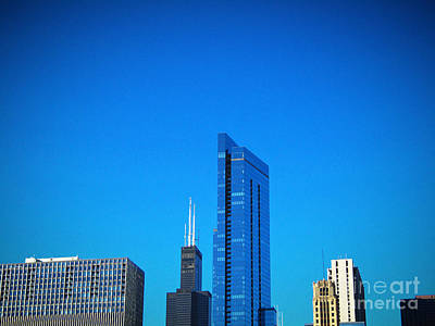Photograph - Blue Middle by Robert Knight