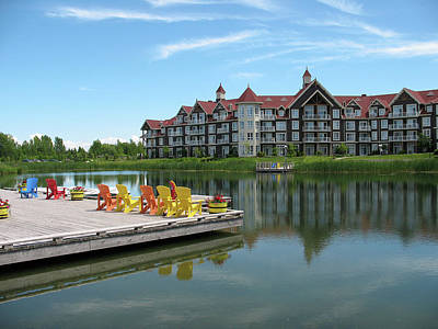 Photograph - Blue Mountain Resort by Cheryl Dumoulin