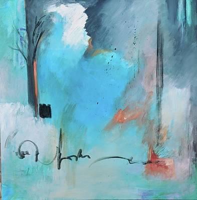 Painting - Blue Note by Jillian Goldberg
