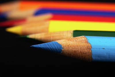 Photograph - Blue Rainbow by Jennifer Wick