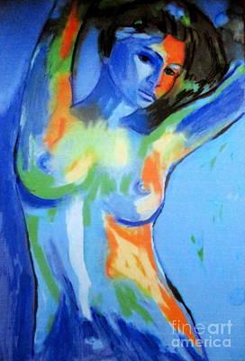 Painting - Blue Rhapsody by Helena Wierzbicki