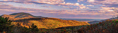 Photograph - Blue Ridge Golden Hour by Mark Papke