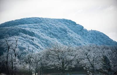 Photograph - Blue Ridge Mountain Top by Mark Duehmig