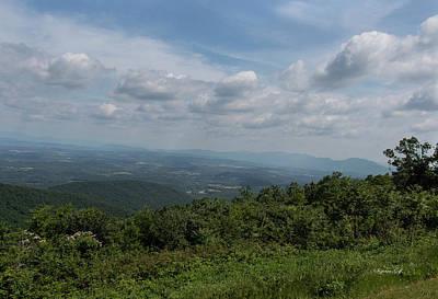 Blue Ridge Mountain Views II Original