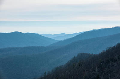 Photograph - Blue Ridge Mountains by Mark Duehmig
