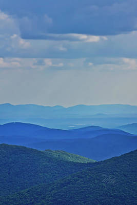 Photograph - Blue Ridge Mountains by Meta Gatschenberger