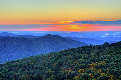 Scenic Photograph - Blue Ridge Mountains by Nikographer [jon]
