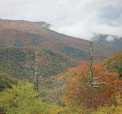 American West - Blue Ridge Parkway Clouds 18 by Cathy Lindsey