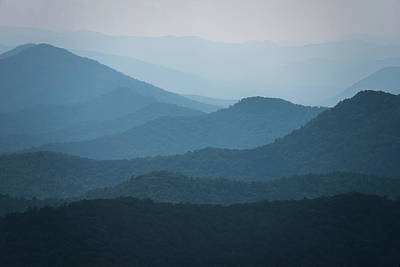 Photograph - Blue Ridge Parkway by Jennifer Ancker