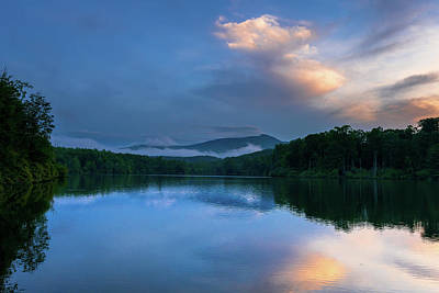 Photograph - Blue Ridge Parkway - Price Lake - North Carolina by Mike Koenig