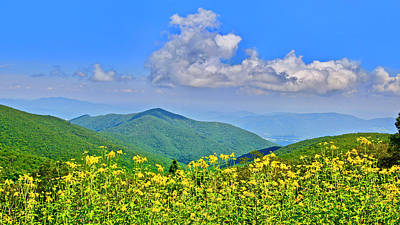 Photograph - Blue Ridge Parkway, Virginia by The American Shutterbug Society