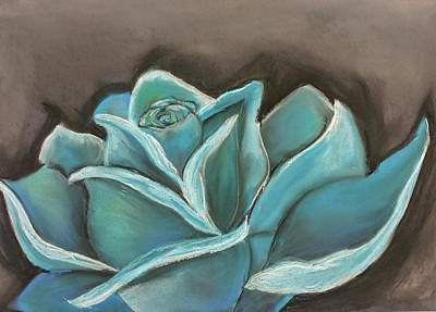 Pastel - Blue Rose by Lisa Bunsey