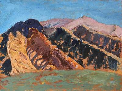 Painting - Blue Sky Canigou by Vera Smith