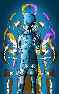 Digital Art - Blue Sky Escape by Luke Blevins