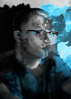 Digital Art - Blue Soul #1 by Luke Blevins