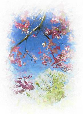 Painting - Blue Spring Ap by Dan Carmichael
