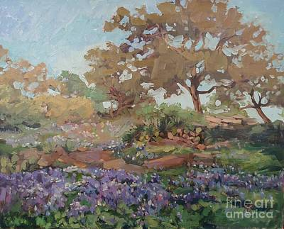 Painting - Blue Spring by Blair Updike