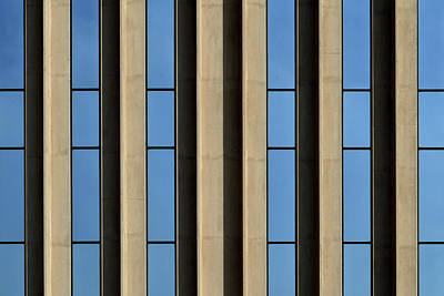 Photograph - Blue Stripes by Stuart Allen