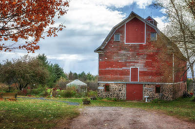 Photograph - Blue Vista Farm by Susan Rissi Tregoning
