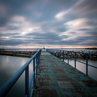 Photograph - Blue Walk by James Meyer
