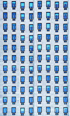 Photograph - Blue Windows by Tim Gainey