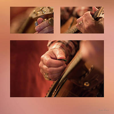 Photograph - Bluegrass Guitar by Karen Rispin