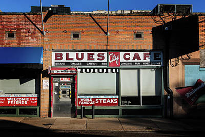 Photograph - Blues City Cafe by Bud Simpson