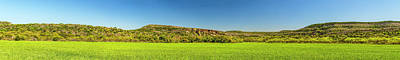 Photograph - Bluffs At Sandy Creek Panorama 2016 by Greg Reed