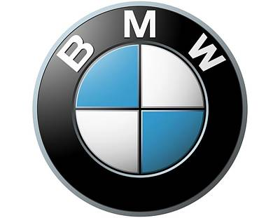 Photograph - Bmw Emblem by Ericamaxine Price