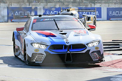 Sports Royalty-Free and Rights-Managed Images - Bmw M8 Gltm #24 by Shoal Hollingsworth