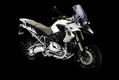 Mixed Media - Bmw R1200gs by Smart Aviation