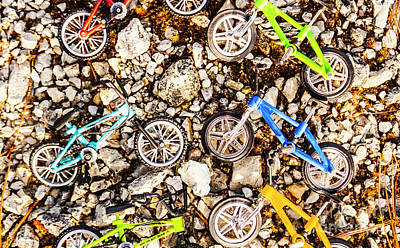 Photograph - Bmx Pebble Race by Jorgo Photography - Wall Art Gallery