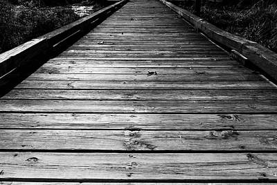 Photograph - Boardwalk  by Doug Camara