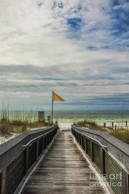Photograph - Boardwalk To The Beach by Mel Steinhauer