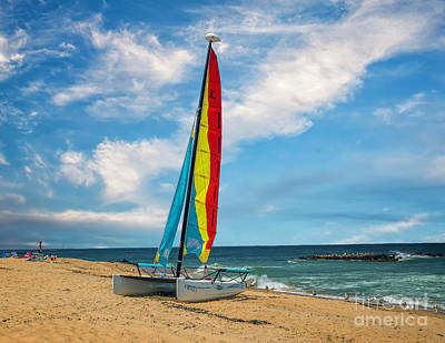 Photograph - Boat On The Beach by Nick Zelinsky