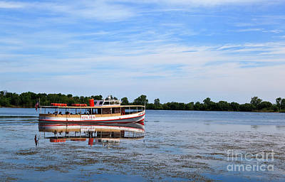 Photograph - Boat Tours On Lake Erie by Jill Lang
