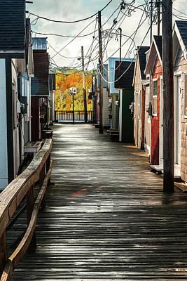 Landscape Photos Chad Dutson - Boathouse Alley by Joann Long