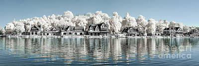 Photograph - Boathouse Row Infrared by Stacey Granger