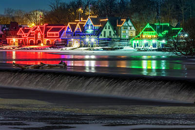 Photograph - Boathouse Row Pa by Susan Candelario